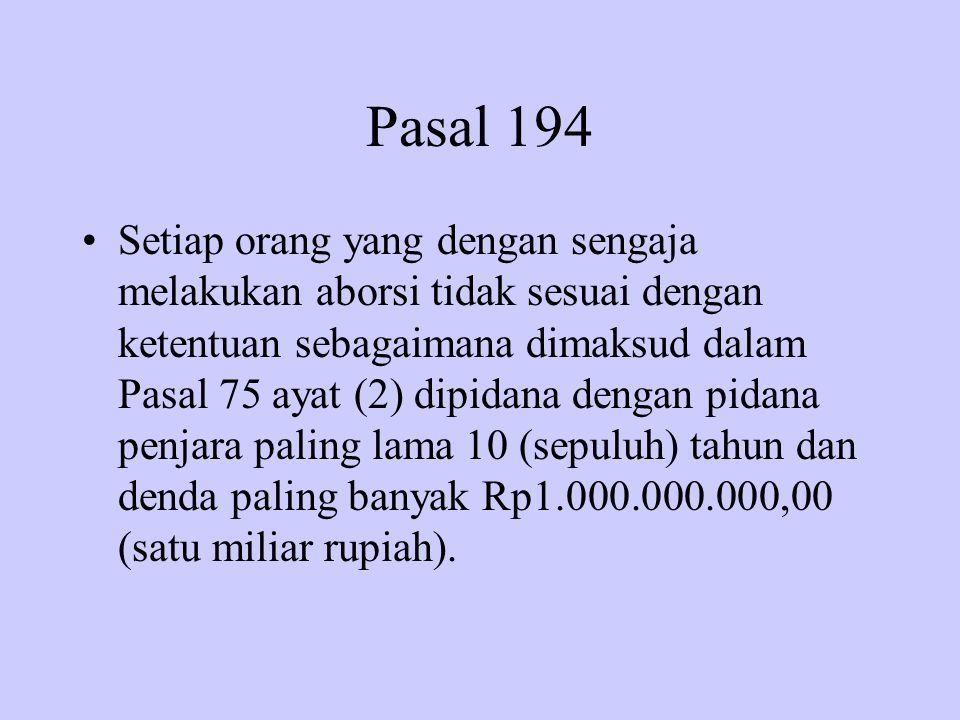 Pasal 194