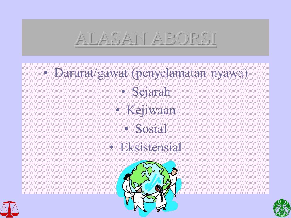 Darurat/gawat (penyelamatan nyawa)