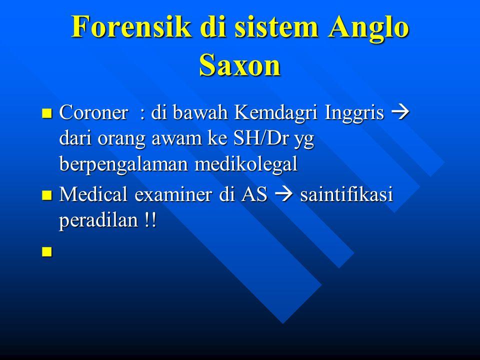 Forensik di sistem Anglo Saxon