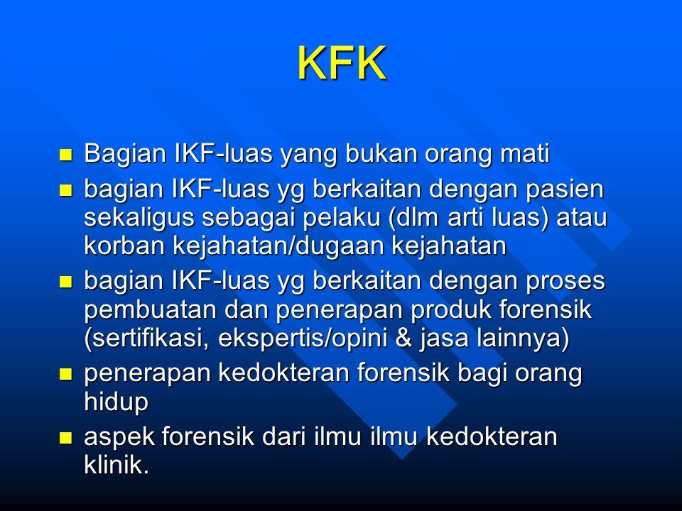 KFK Bagian IKF-luas yang bukan orang mati