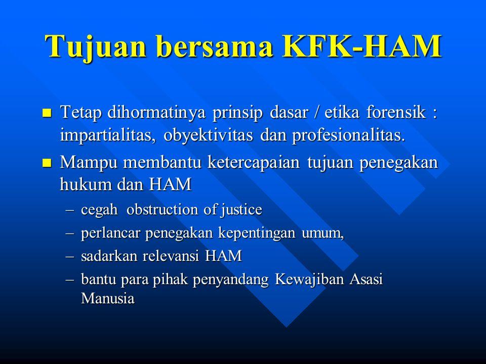 Tujuan bersama KFK-HAM