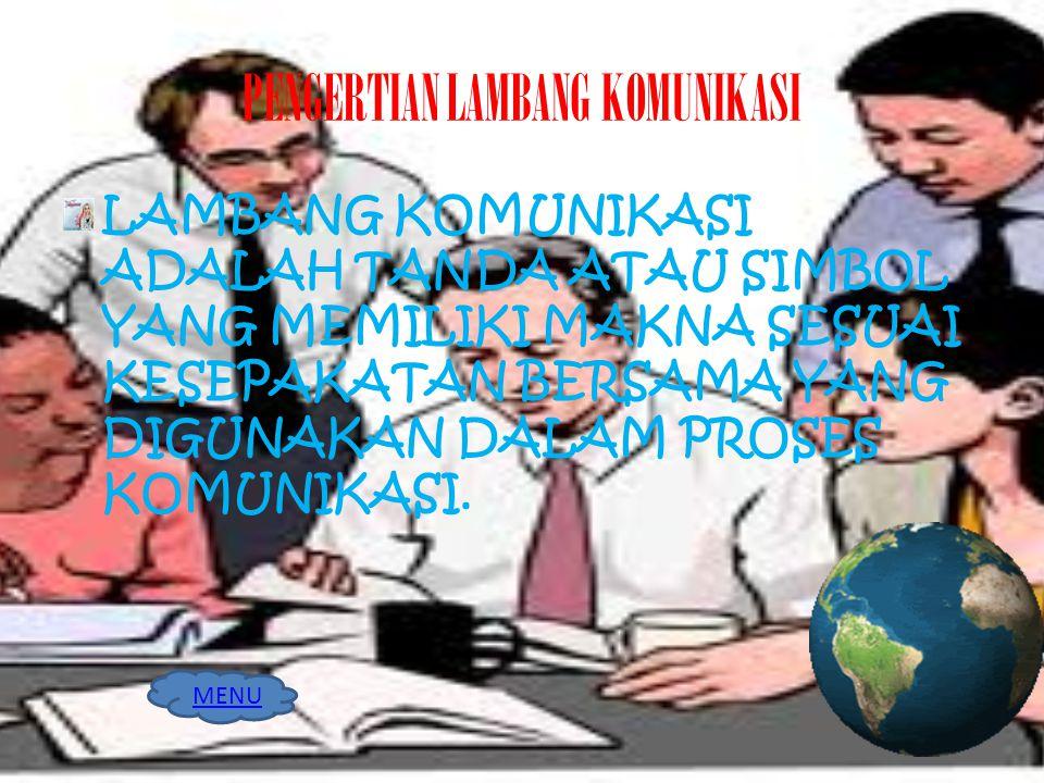 PENGERTIAN LAMBANG KOMUNIKASI