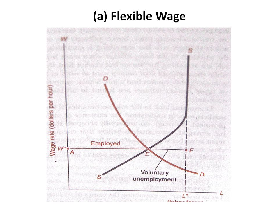 (a) Flexible Wage