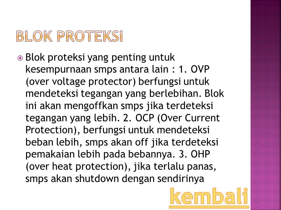 Blok Proteksi