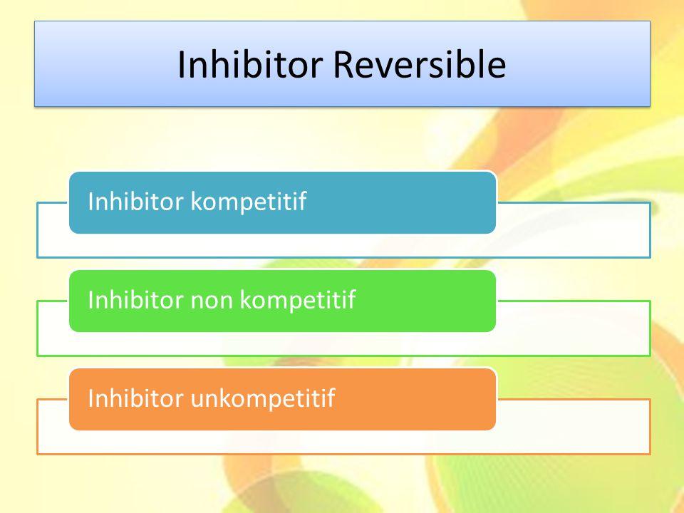 Inhibitor Reversible Inhibitor kompetitif Inhibitor non kompetitif