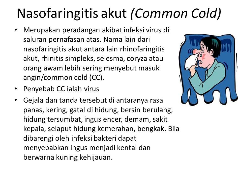 Nasofaringitis akut (Common Cold)