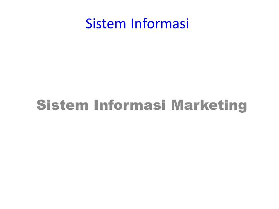 Sistem Informasi Marketing