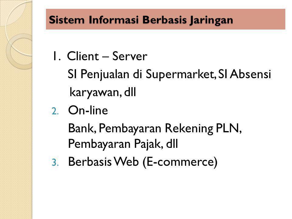 Sistem Informasi Berbasis Jaringan