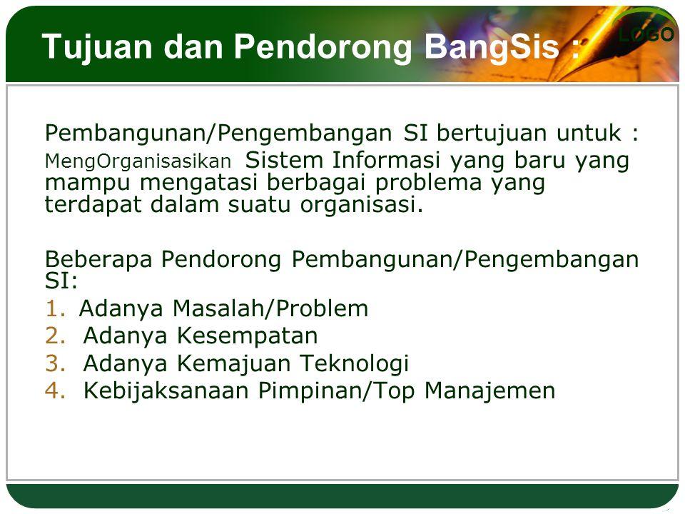 Tujuan dan Pendorong BangSis :