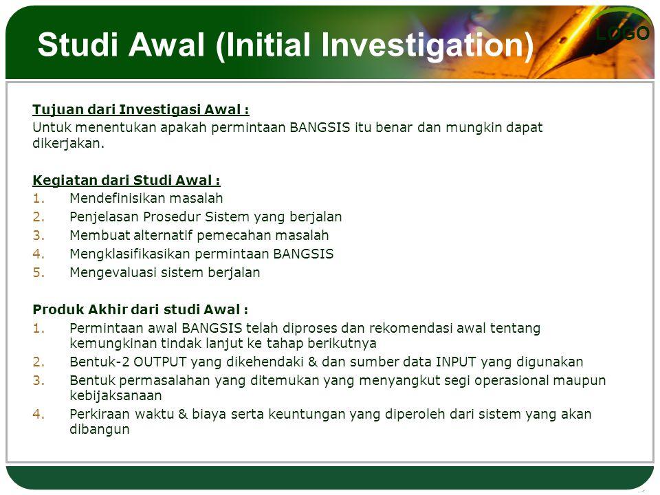 Studi Awal (Initial Investigation)