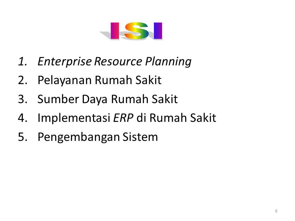 ISI Enterprise Resource Planning Pelayanan Rumah Sakit