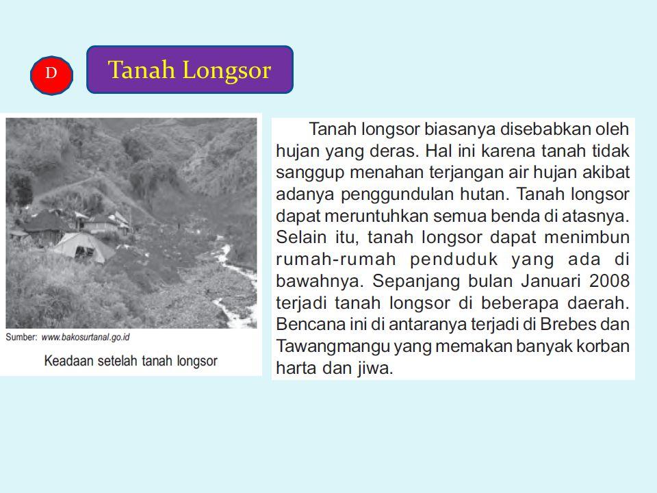 Tanah Longsor D