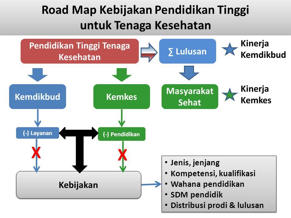 Road Map Kebijakan Pendidikan Tinggi untuk Tenaga Kesehatan