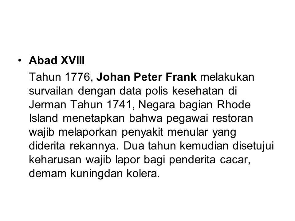Abad XVIII
