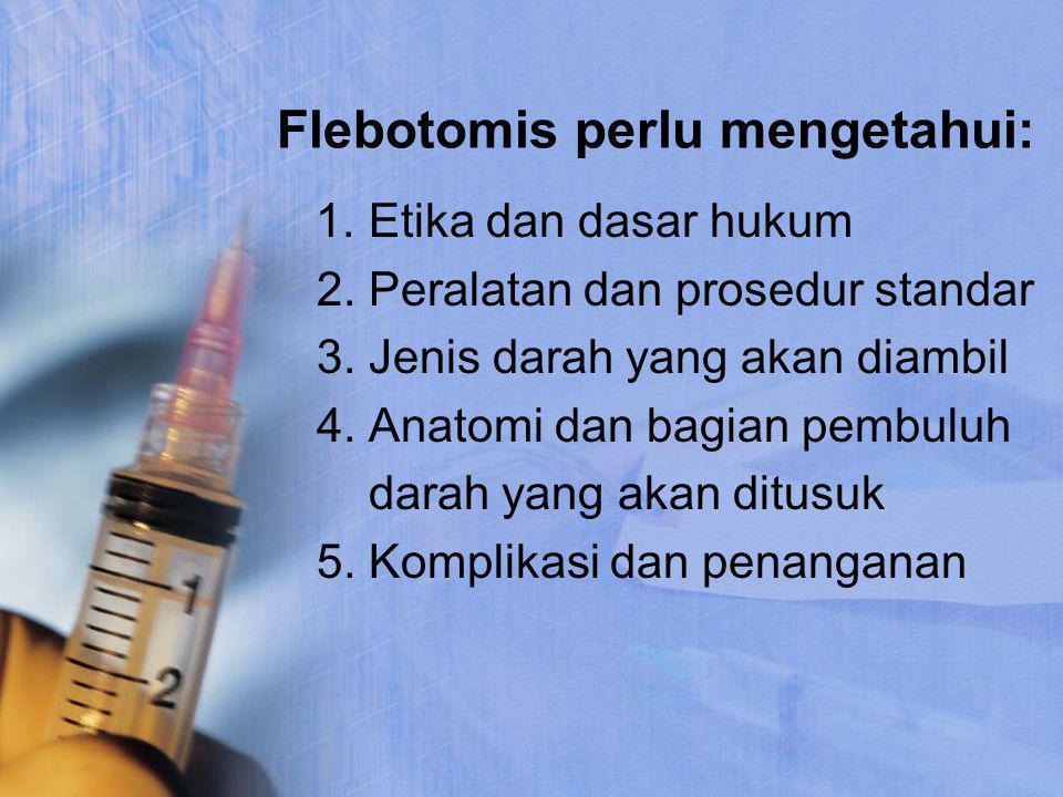 Flebotomis perlu mengetahui:
