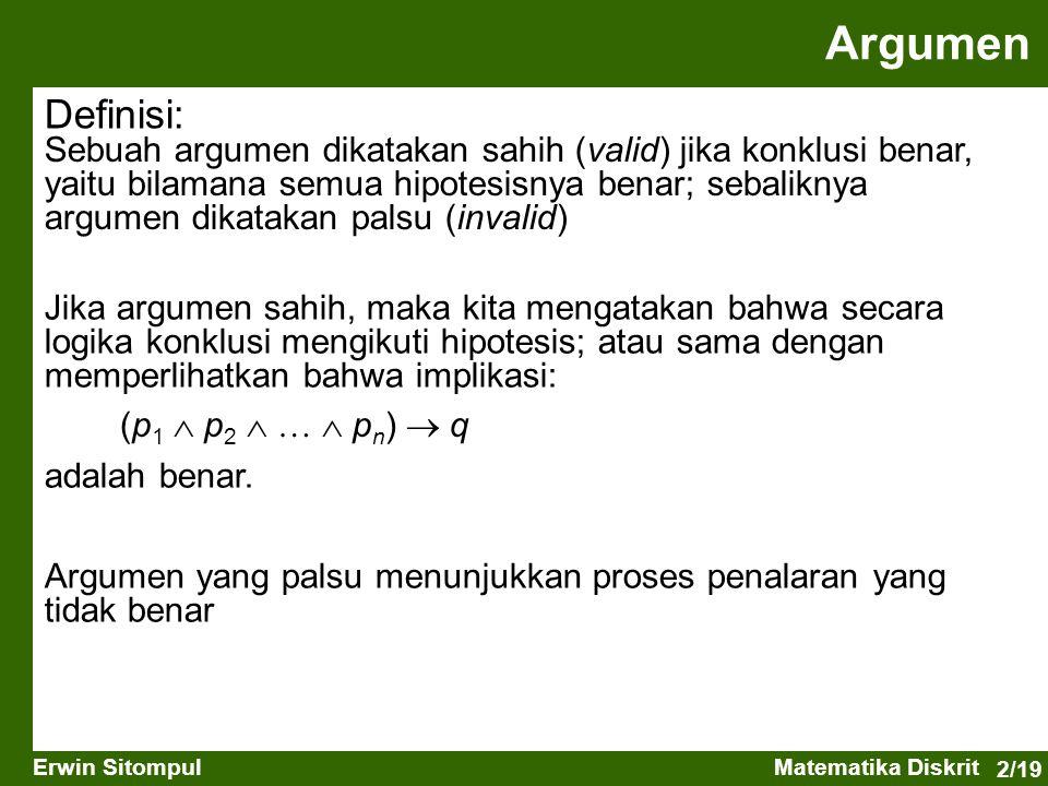 Argumen Definisi: