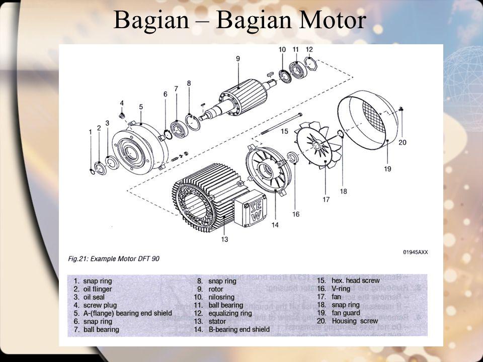 Bagian – Bagian Motor