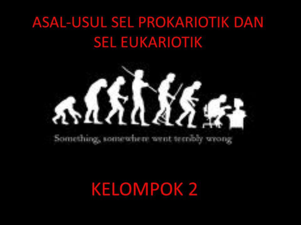 ASAL-USUL SEL PROKARIOTIK DAN SEL EUKARIOTIK