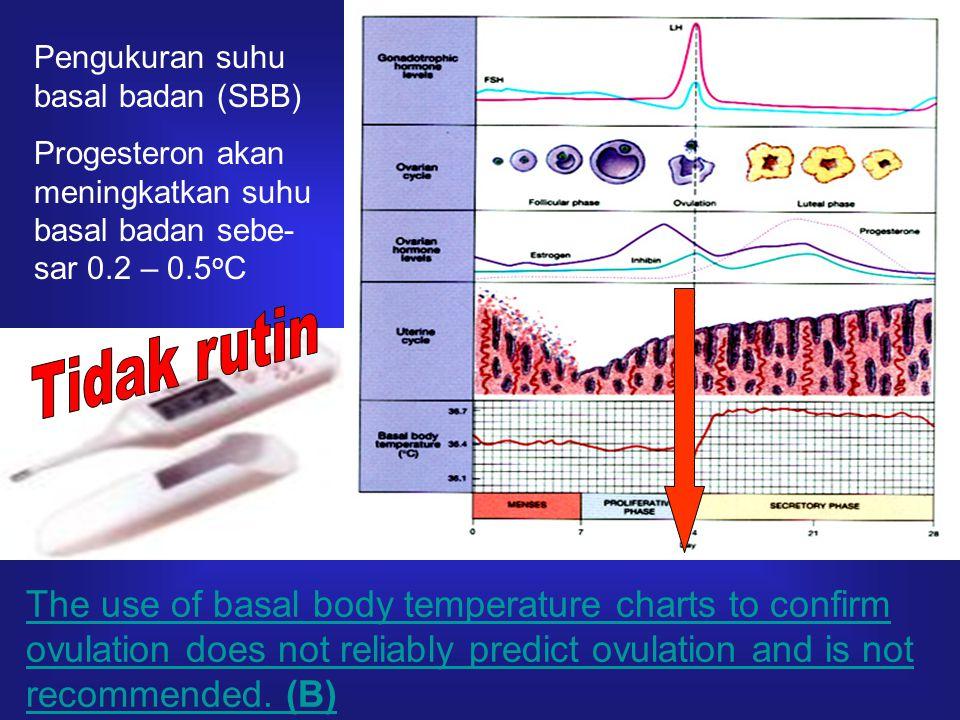 Pengukuran suhu basal badan (SBB)