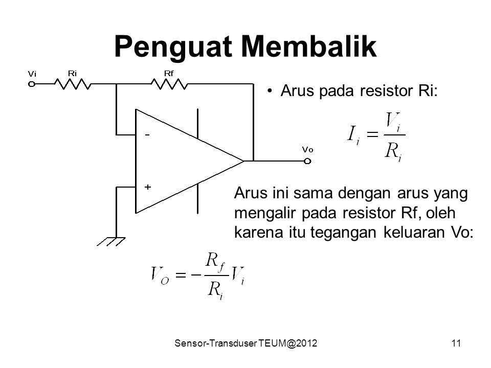 Sensor-Transduser TEUM@2012