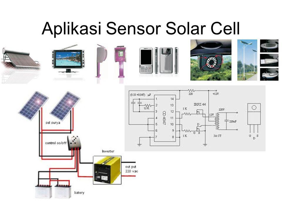 Aplikasi Sensor Solar Cell