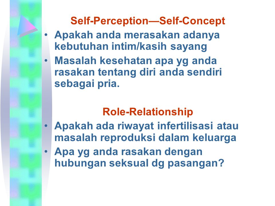 Self-Perception—Self-Concept