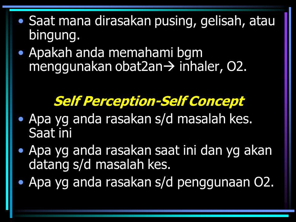 Self Perception-Self Concept