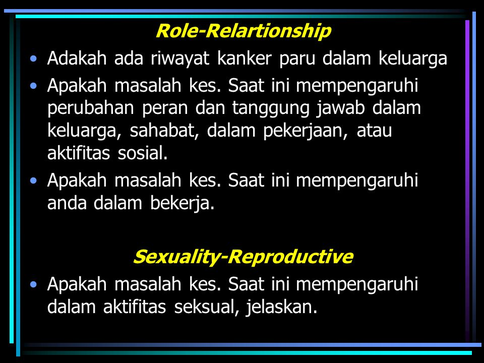 Sexuality-Reproductive