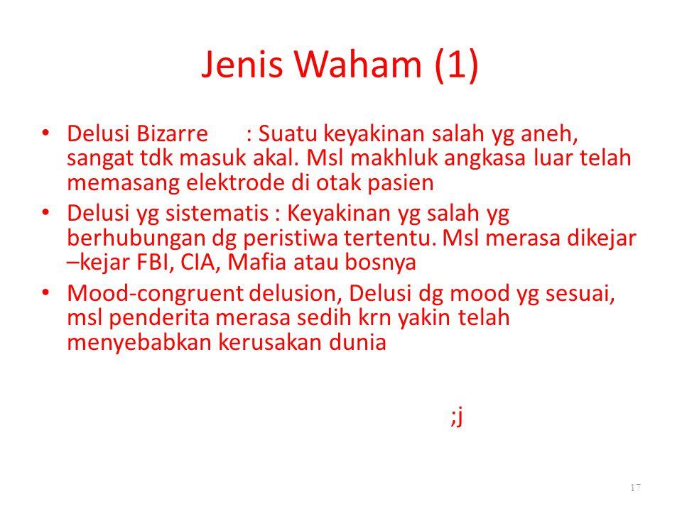 Jenis Waham (1)