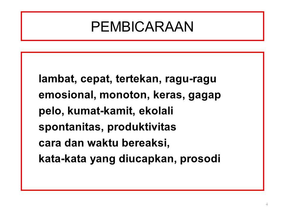 PEMBICARAAN