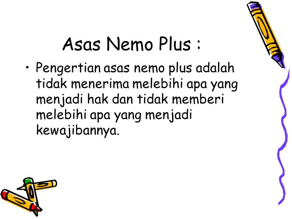 Asas Nemo Plus :