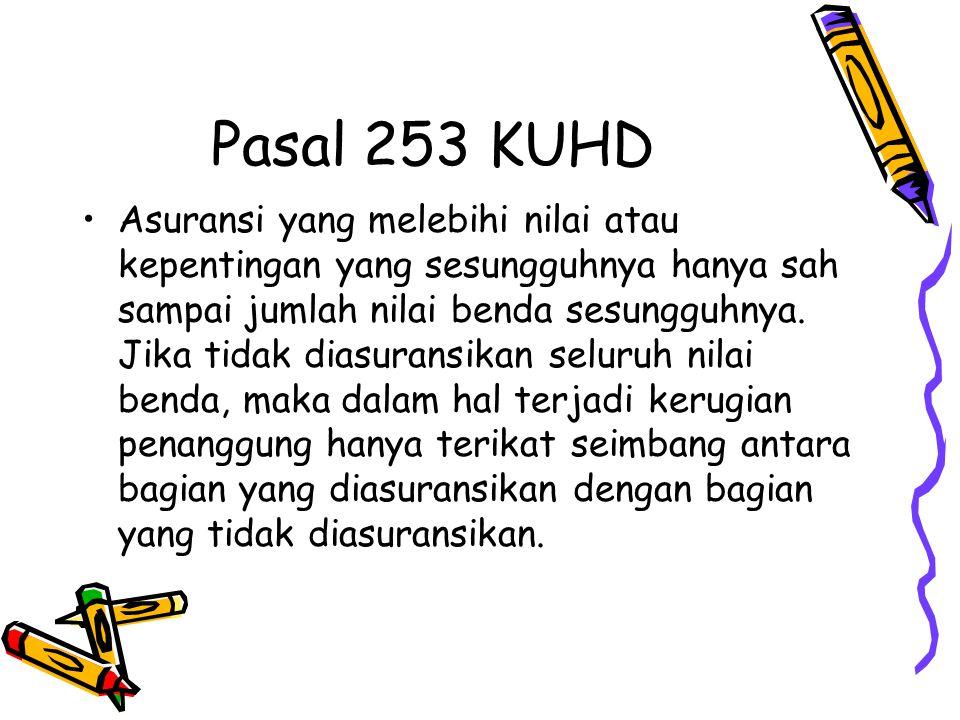 Pasal 253 KUHD