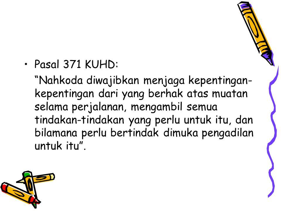 Pasal 371 KUHD: