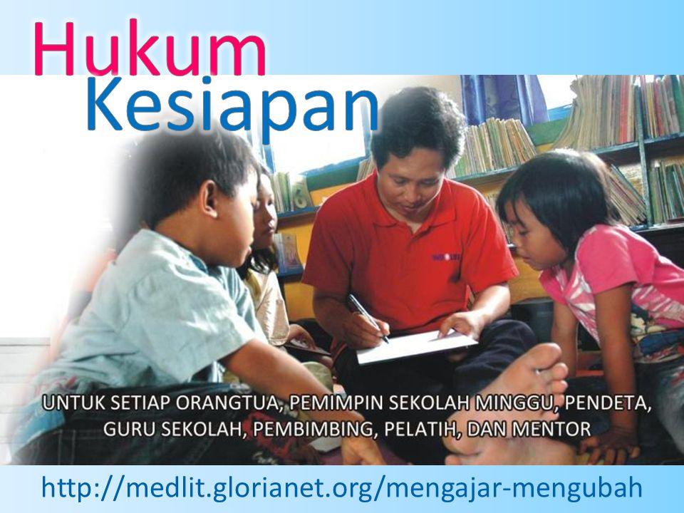 Hukum Kesiapan http://medlit.glorianet.org/mengajar-mengubah