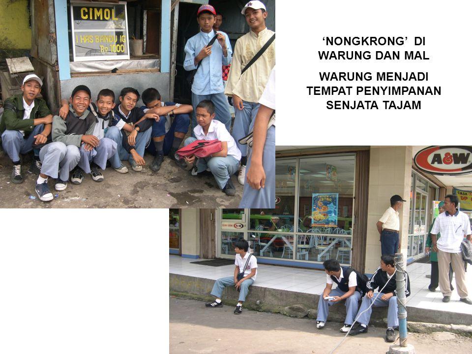 'NONGKRONG' DI WARUNG DAN MAL