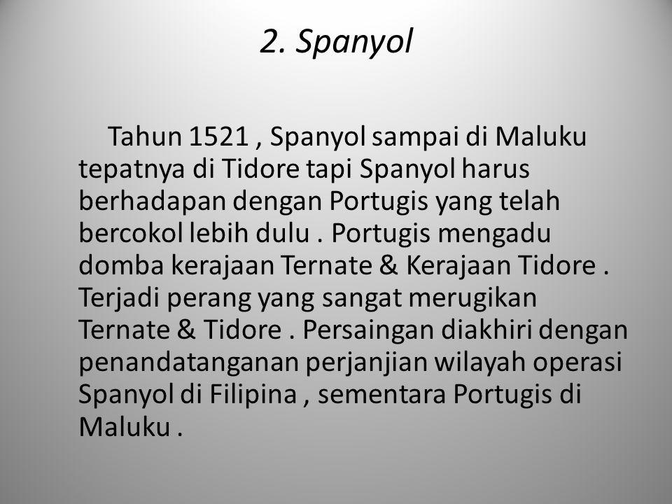 2. Spanyol