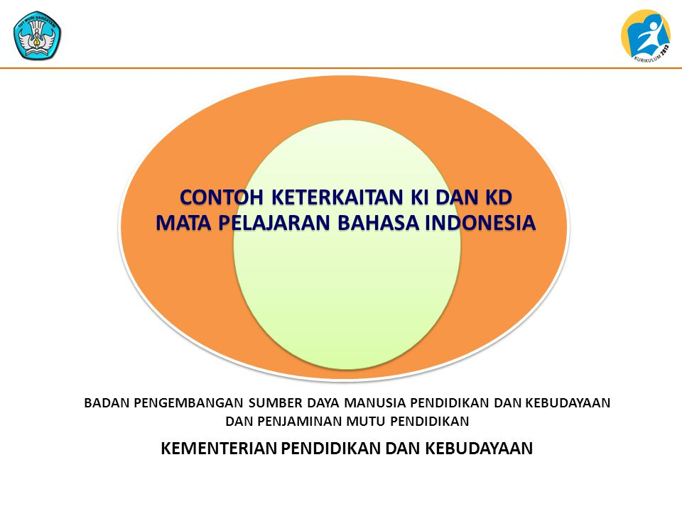 CONTOH KETERKAITAN KI DAN KD MATA PELAJARAN BAHASA INDONESIA