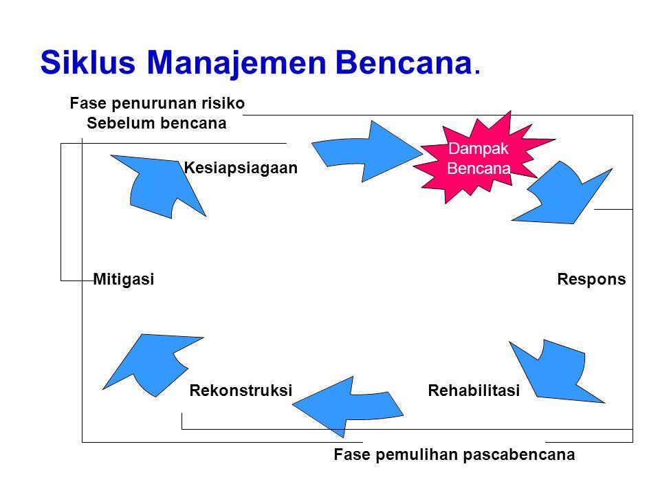 Siklus Manajemen Bencana.