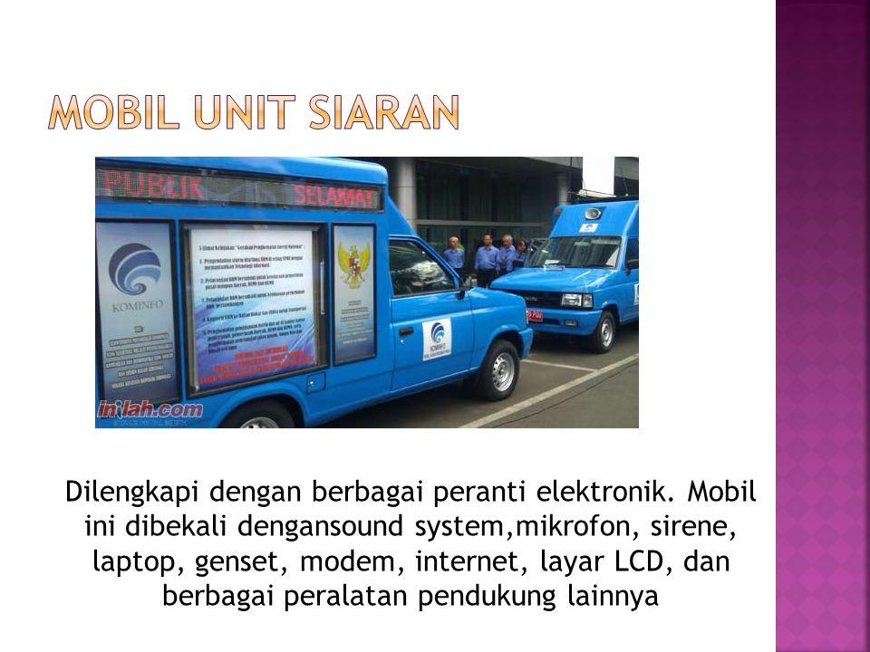 Mobil Unit Siaran