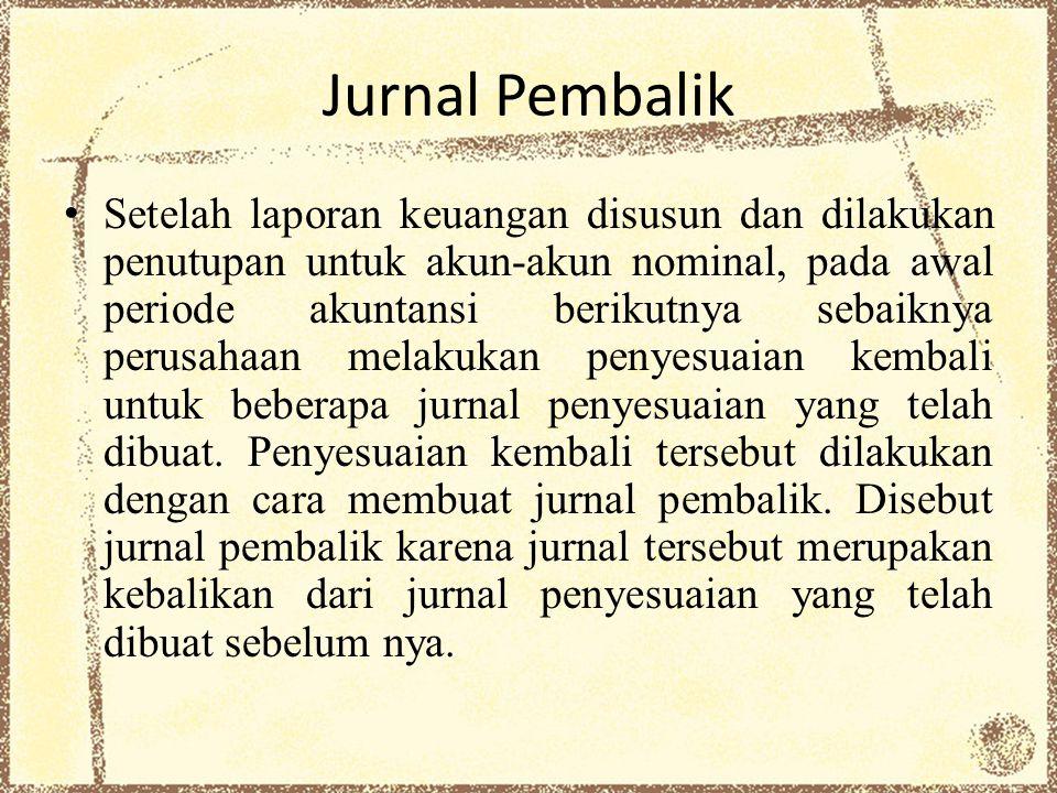 Jurnal Pembalik