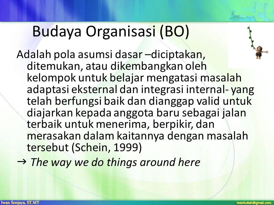Budaya Organisasi (BO)