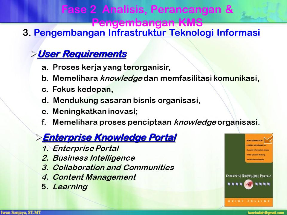 1. Analisis Infrastruktur Teknologi Informasi