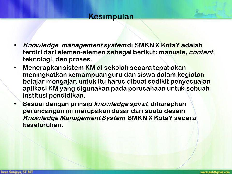 10. Evaluasi Performance KMS dan Pengukuran
