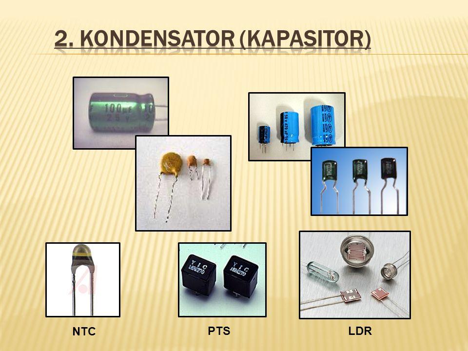 2. Kondensator (kapasitor)