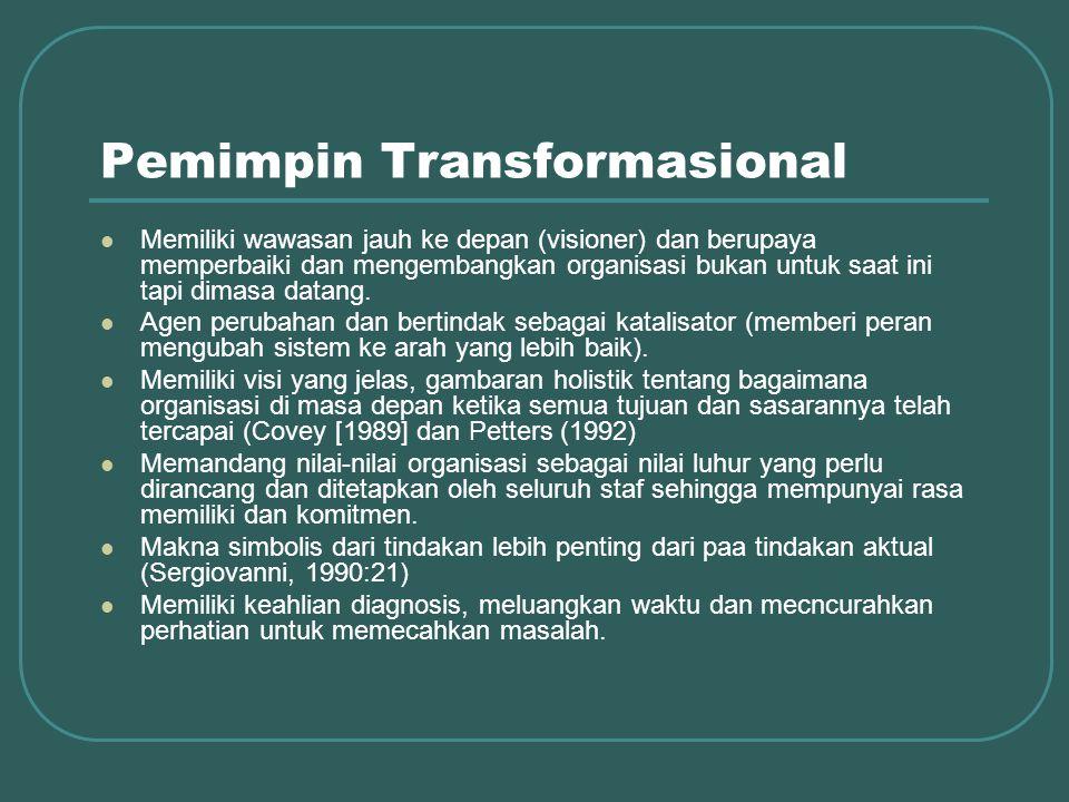 Pemimpin Transformasional