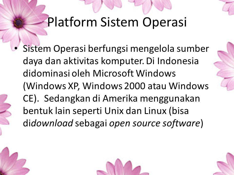 Platform Sistem Operasi