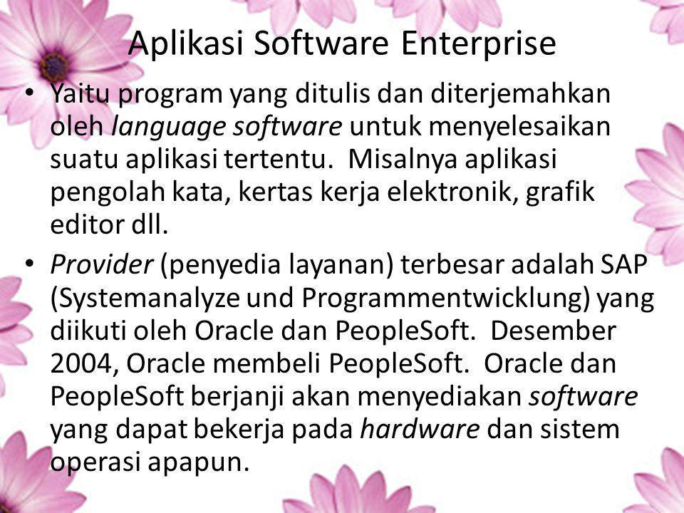 Aplikasi Software Enterprise