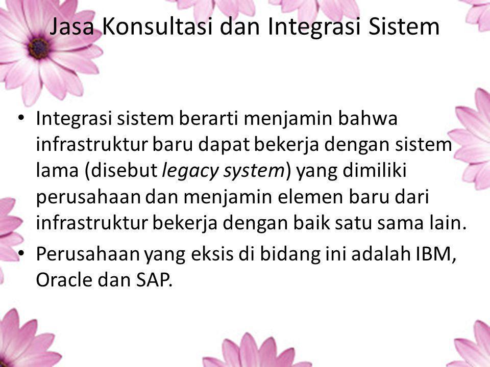 Jasa Konsultasi dan Integrasi Sistem