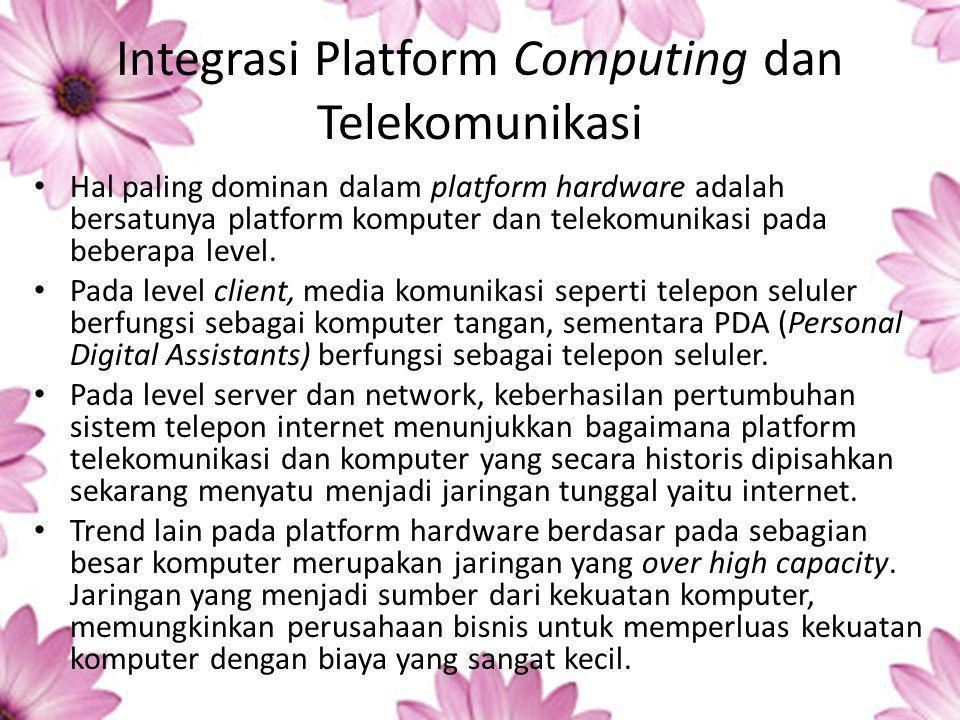Integrasi Platform Computing dan Telekomunikasi