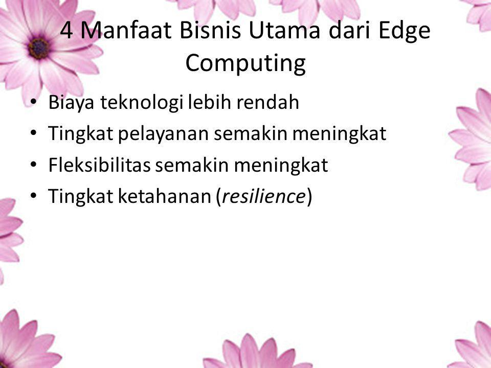 4 Manfaat Bisnis Utama dari Edge Computing
